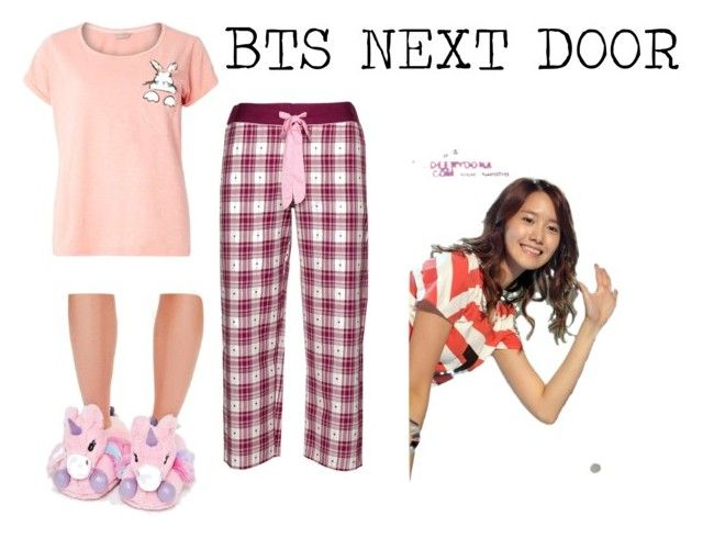 """""""Shin's pyjama"""" by pantsulord on Polyvore featuring Missguided, Cyberjammies and Dorothy Perkins"""