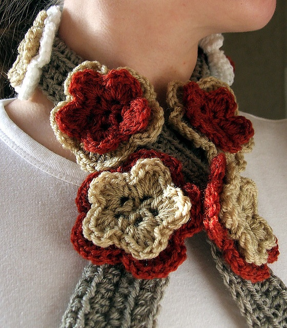Hand knit Angora Neck Warmer Scarf Lace Pattern Great for ...