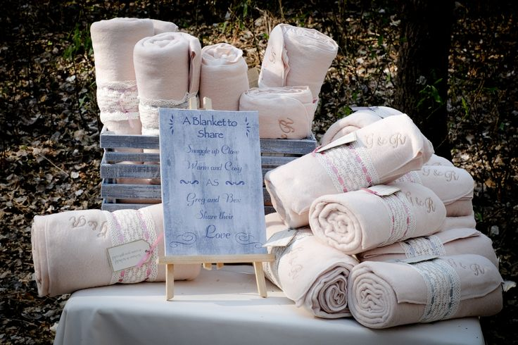 Embroidered Blanket Favours