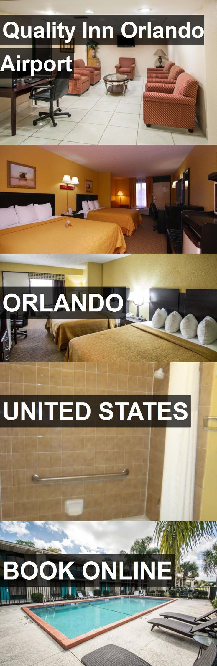 Hotel Quality Inn Orlando Airport in Orlando, United States. For more information, photos, reviews and best prices please follow the link. #UnitedStates #Orlando #QualityInnOrlandoAirport #hotel #travel #vacation