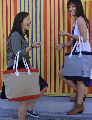 Purchasing These Bags for Charity Provides Kids with Education #charity #gifts trendhunter.com