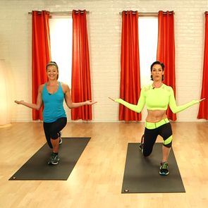 Victoria's Secret Model's Full-Body Workout 10-minute video