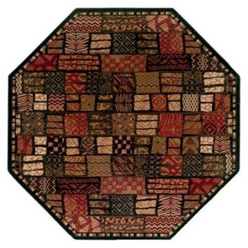 Funky Shapes With Octagon Area Rugs Geometric Rug Rugs