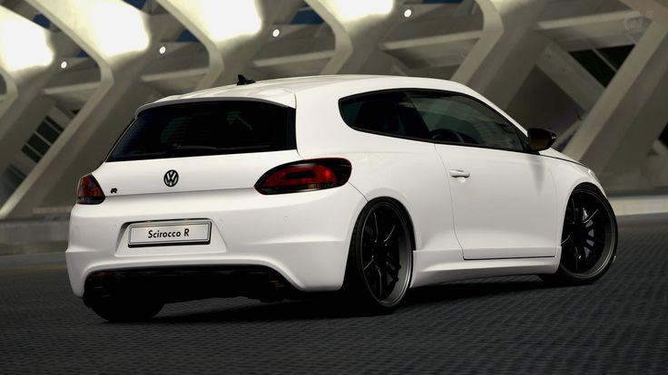 Volkswagen Scirocco R Gran Turismo 6  Sport Cars  Pinterest