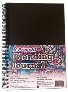 copic oz: Art Journal #1 Creating Backgrounds