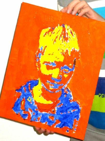 Andy Warhol; schilder je zelfportret in de stijl van deze Popart kunstenaar. :: Kunst & Kolder