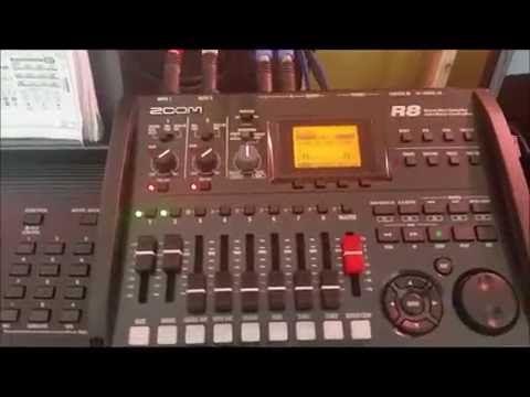 Zoom R8 - Yamaha PSR-E453