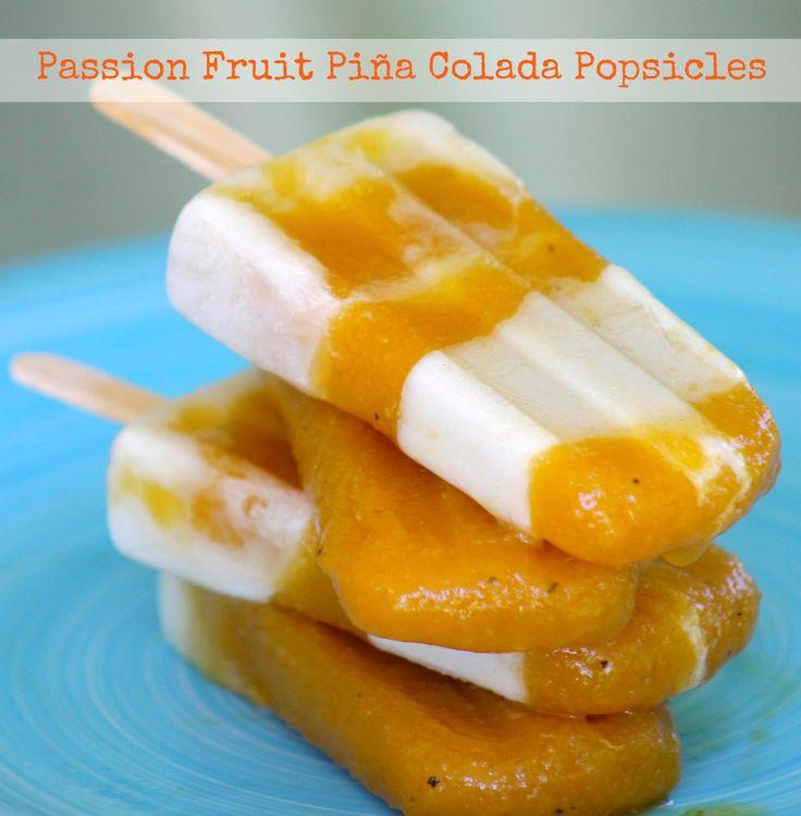 ... pops diy food icecream passion food inspiration forward passion fruit