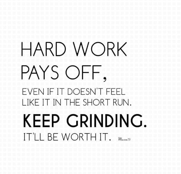 Hard work pays off. Hard Work Pays OffAffirmationsPositive Affirmations