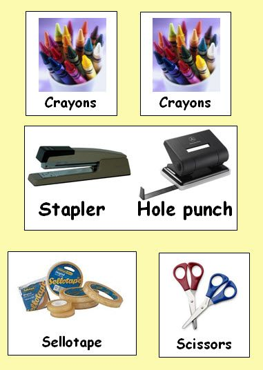 Pencil-pot labels - Save yourself some time with this variety of classroom labels.