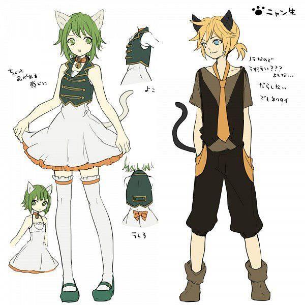 Gumi & Len: Ah, It's a Wonderful Cat Life