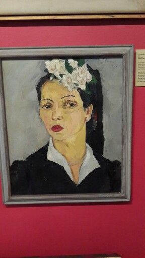 Lady with camellias Irma Stern