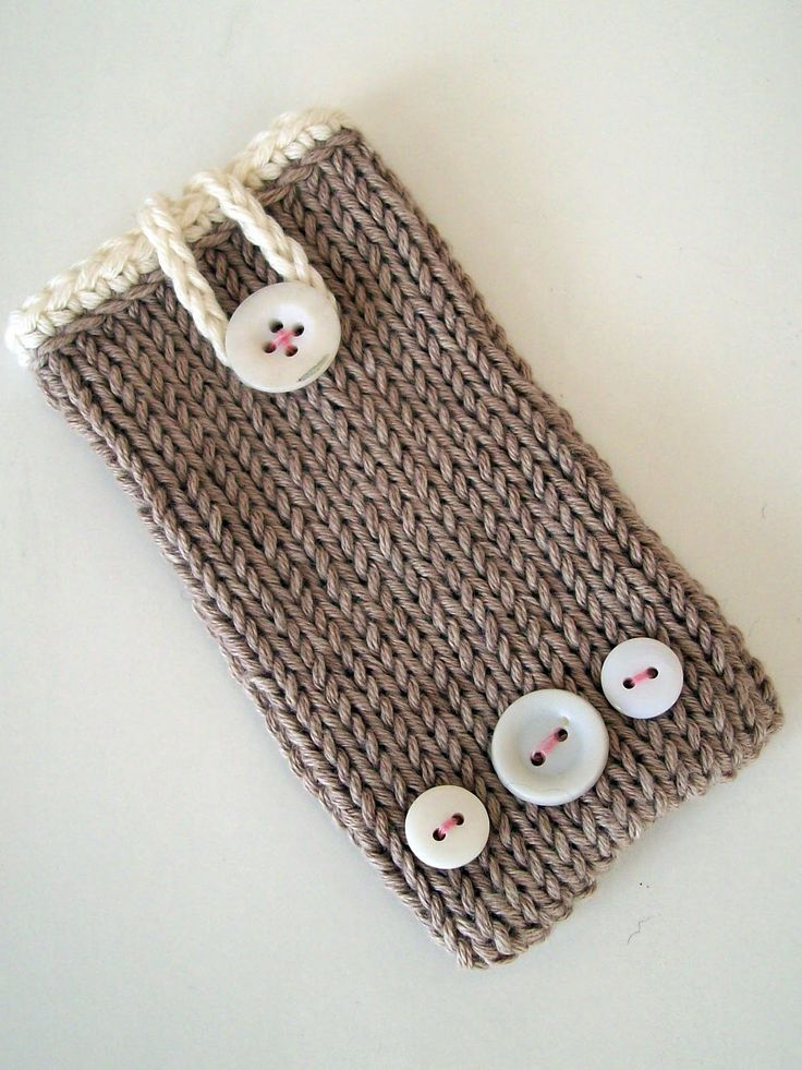 knitting pattern for iphone case - Google Search