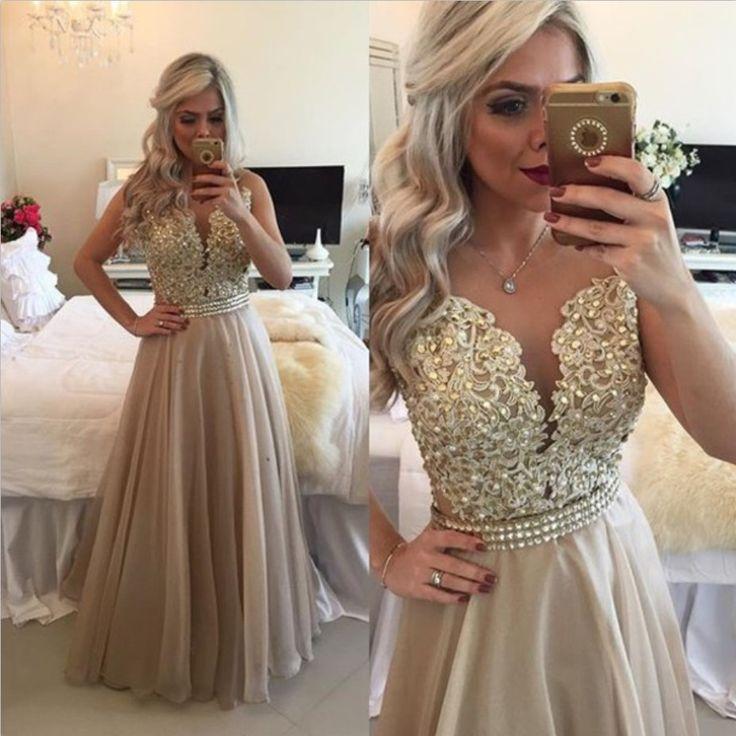 Vestido púrpura de la lavanda de dama de honor vestidos 2016 hermosa Vintage más el tamaño dorado vestidos de baile