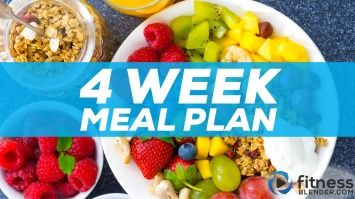 New: 4 Week Meal Plan - Eat Real Food & Feel Great! This meal plan details 3 meals and 3 snacks a day and offers 5 different calorie allotments so that you can customize the plan to work for your exact goals.