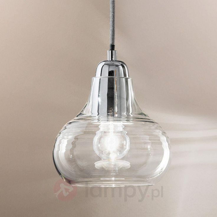 Jednopunktowa lampa wisząca Liri, chrom 3502500