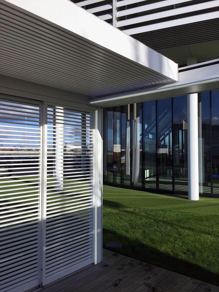 Die besten 25+ Sonnenschutz terrassenüberdachung Ideen auf - auswahl materialien terrassenuberdachung