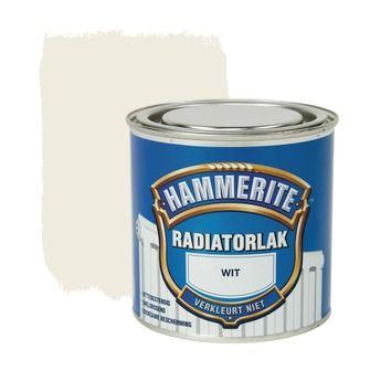 Hammerite radiatorlak hoogglans wit 250 ml | Radiatorlak | Speciaalverven | Verf & verfbenodigdheden | KARWEI