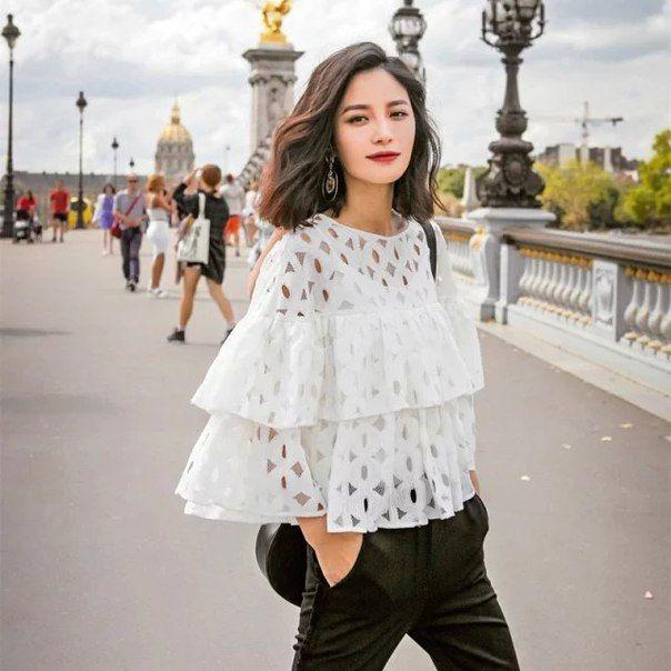 Женская элегантная блузка Ссылка: http://ali.pub/bgcyw