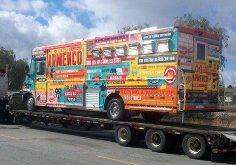 Truck #color #design #foodtruck #typography