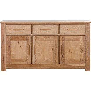 Buy Schreiber Harbury Large Sideboard - Oak at Argos.co.uk, visit Argos.co.uk to…