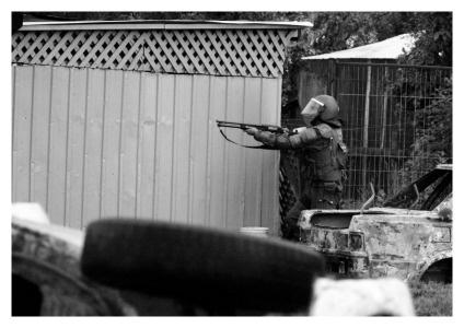 policia de fuerzas especiales
