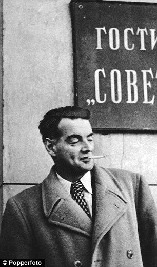 Fugitive: Guy Burgess in Moscow in 1956 after defecting to the Soviet Union