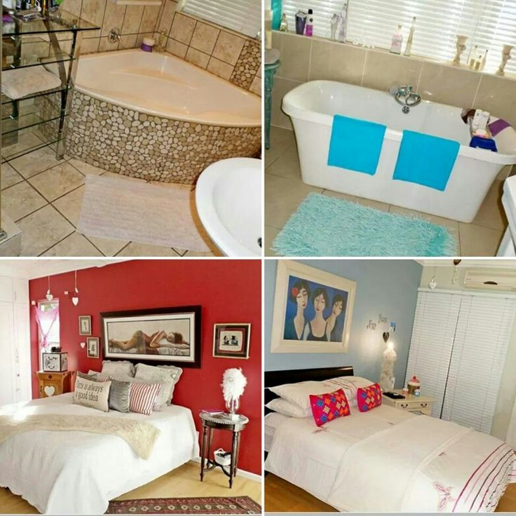 Bathrooms and rooms