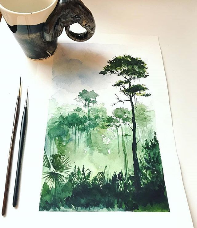 Watercolor Top Sharing Page On Instagram Artist