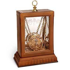 """""""I mark the hours every one  nor have I yet outrun the sun.  My use and value unto you  are gauged by what you have to do.""""  - Inscription on Hermione's Time Turner"""