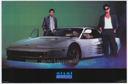 Miami Vice Cars | miami-vice-crockett-tubbs-car.jpg | TV ...
