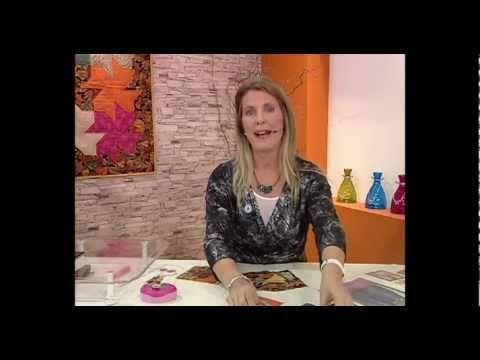 Carolina Rizzi - Bienvenidas TV - Técnicas de Patchwork y Fragmentos - YouTube