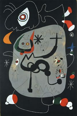 Dancer Listening to Organ in a Gothic Cathedral - Miro