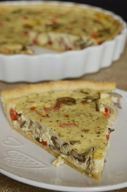 Citromhab: Sonkás-gombás pite