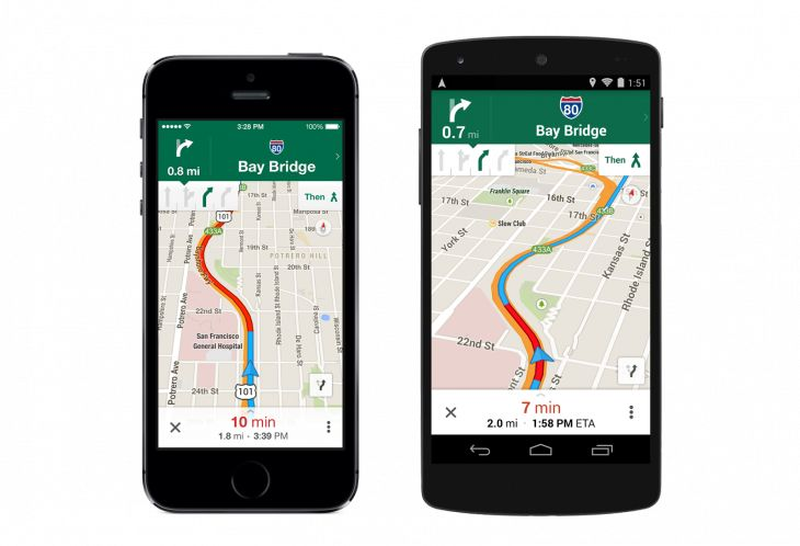 #Google maps update: lane directions, save for offline, and more.  Pretty cool #ux