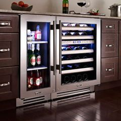 This is the ticket!! Wine AND beer. That would leave so much room in our full size fridge and would please us both!!!!!!!