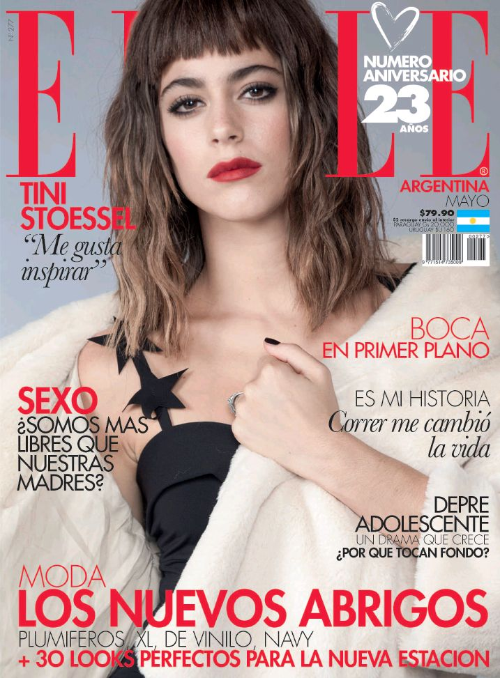 ELLE Argentina May 2017: Martina Stoessel by Lucila Cummins