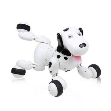 JG 2.4G RC Robot Smart Dog RC Intelligent Simulation Mini Dog Sale - Banggood.com