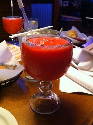 Strawberry Banana Margarita...Texas Roadhouse