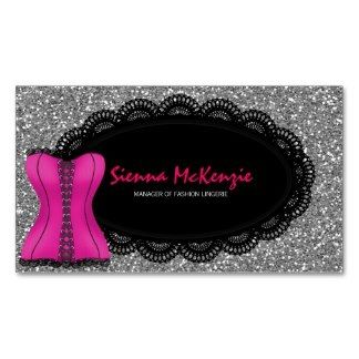 #fashion #lingerie theme. There are 13 colors. Available as invitation, business card and label