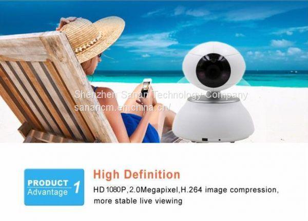 HD 720P 1080P Wireless IP Camera Smart CCTV Security Camera P2P Network Baby Monitor Home Serveillance Wifi Camera