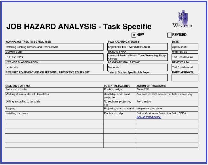 9 Hazard Log Template Book Keeping Templates Templates Words