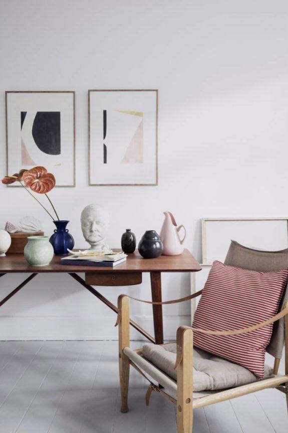 home gallery inspiration via artist leigh wells. | Scandinavian Interior Design |#scandinavian#interior