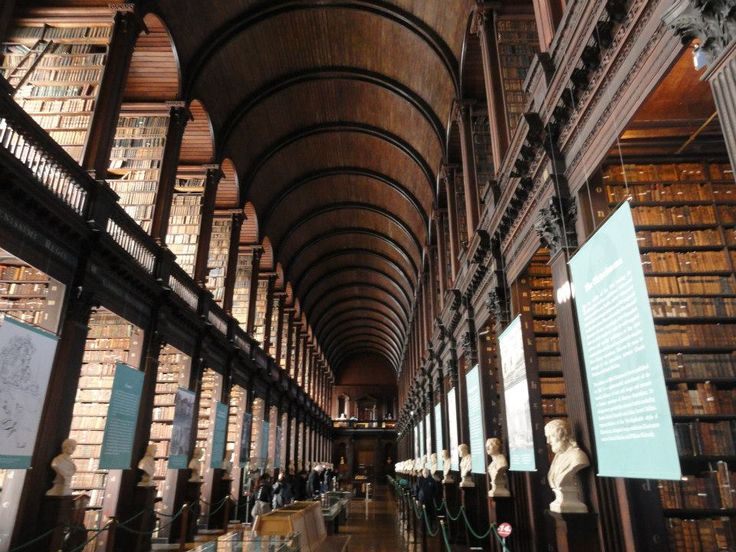 Trinity College Library <3