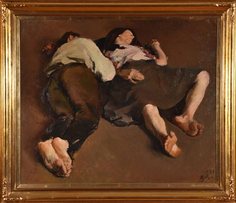 Corneliu Baba, The Sleep on ArtStack #corneliu-baba #art