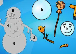 Gry edukacyjne: literki, cyferki, figury - Kiddoland