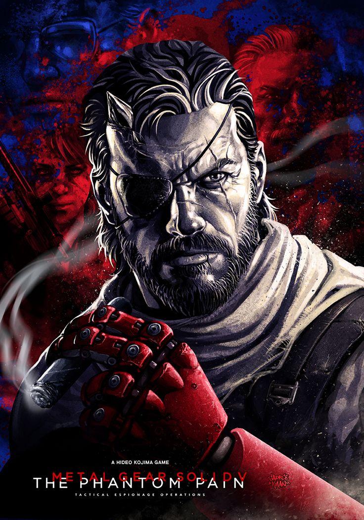 "pixalry: "" Metal Gear Solid V: Phantom Pain- Created by Sadece Kaan ""____©___!!!!"