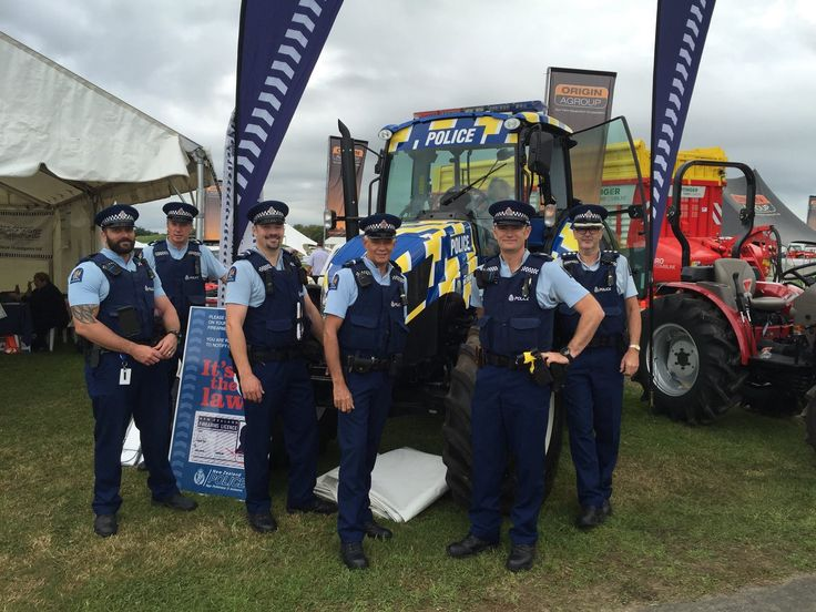 Manawatu Rural police at the Feild Days