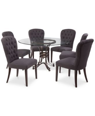 3442bfe420c0 Caspian Round Metal Dining Furniture