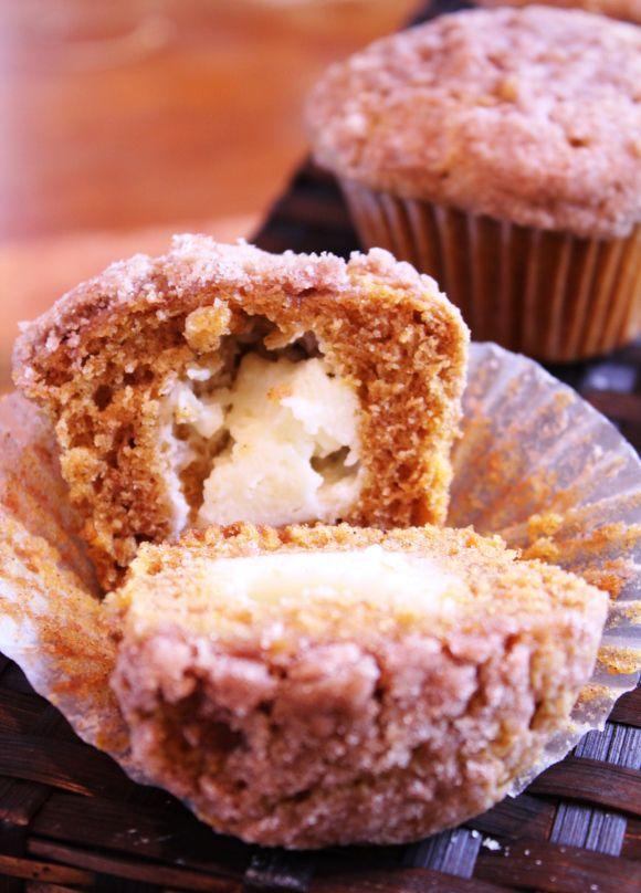 Pumpkin cream cheese muffins | Food...Yum | Pinterest | Cream Cheese ...